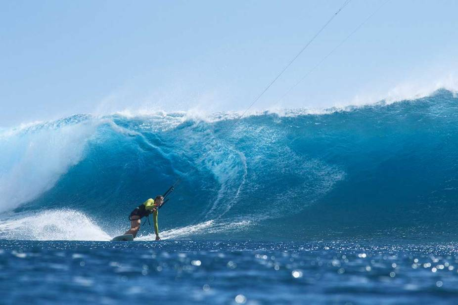 Wave riding in Mauritius