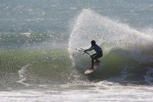 Kite wave action at Oum Labouir