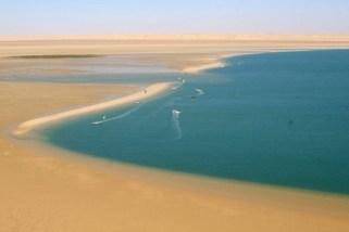 Speed Spot, Dakhla Lagoon in Morocco