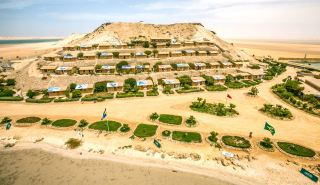 Dakhla Attitude camp at Dakhla in Morocco