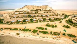 Dakhla Attitude camp at Dakhla in Morocco