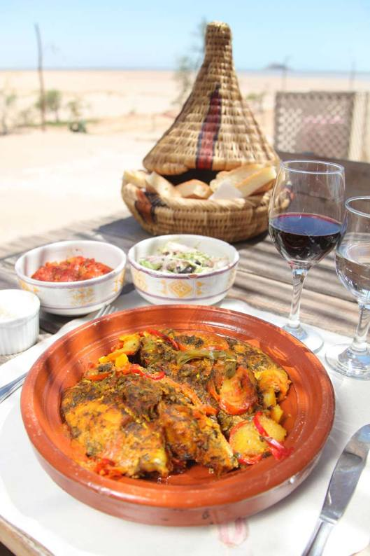 Traditional tagine at Dakhla, Morocco