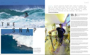 John Amundson feature in Kiteworld issue #75