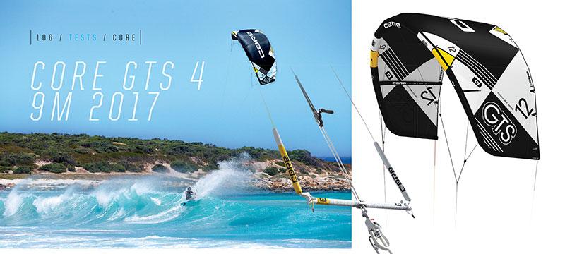 Core GTS 4 kite review Kiteworld magazine