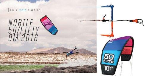 Nobile 50/Fifty kite review Kiteworld Magazine