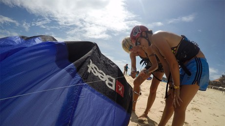 C2sky - Mui Ne, Vietnam kitesurfing lessons