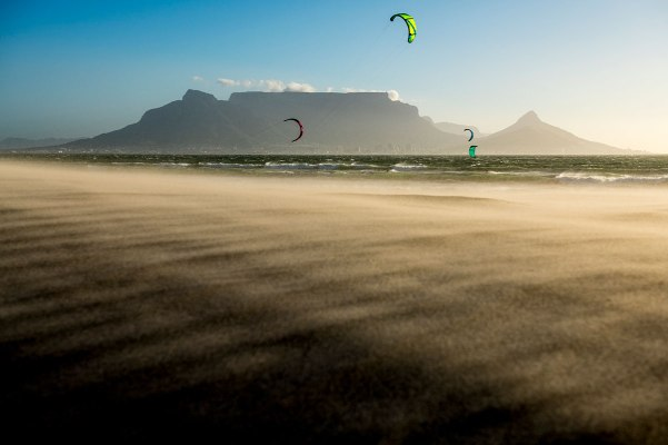 Winds in Cape Town