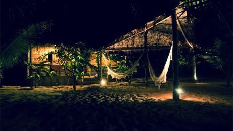 Amarela lagoon bungalows, Taiba, Brazil