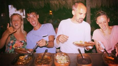 Amarela Taiba, Brazil - Food