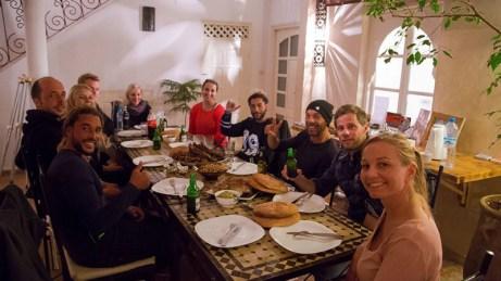 Essaouira - Riad dining