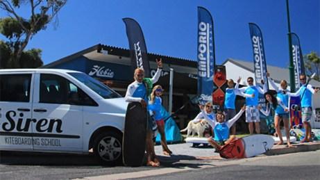 Siren Kiteboarding Langebaan shop
