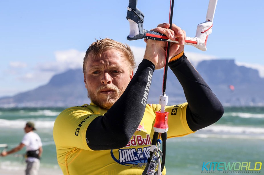 Ruben Lenten focusing in
