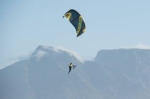Kevin soars above Kite Beach / Image: Craig Kolesky