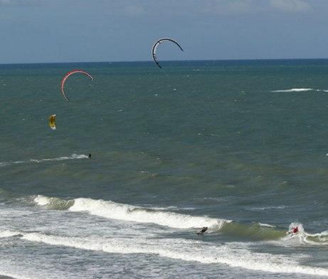 Freeride Kitesurf Pipa, Brazil