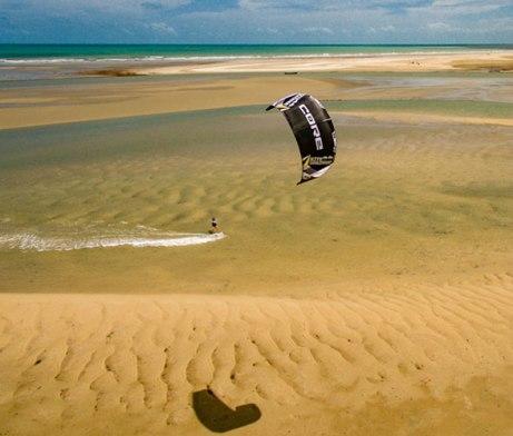 Freeride Kitesurf Tatajuba, Brazil