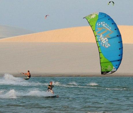 Jericoacoara, Brazil, Freeride Kitesurf