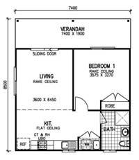Small Granny Flat Floor Plans 1 Bedroom Www Resnooze Com