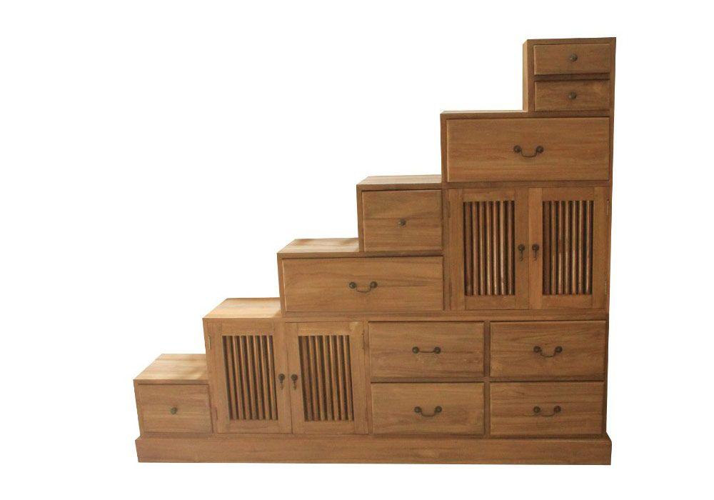 meuble de rangement escalier kit m