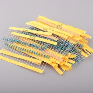 1/4 w colored ring Resistenze Kits 0R-100R 10 Pezzi of 17kinds : 0.5 1 2.2 4.7 5.1 10 15 20 30 33 36 47 56 68 75 82 1001/4 w