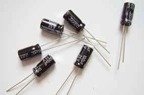 10 Pezzi 100uf 35V 6*11 Electrolytic Condensatore