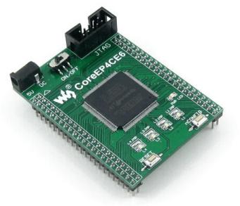 CoreEP4CE6 EP4CE6 EP4CE6E22C8N FPGA ALTERA Cyclone IV Scheda di Sviluppo Full I/O Expander JTAG Interfaccia