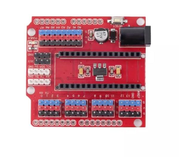 Prototype Shield I/O Scheda di Estensione modulo di espansione per Arduino Nano V3.0