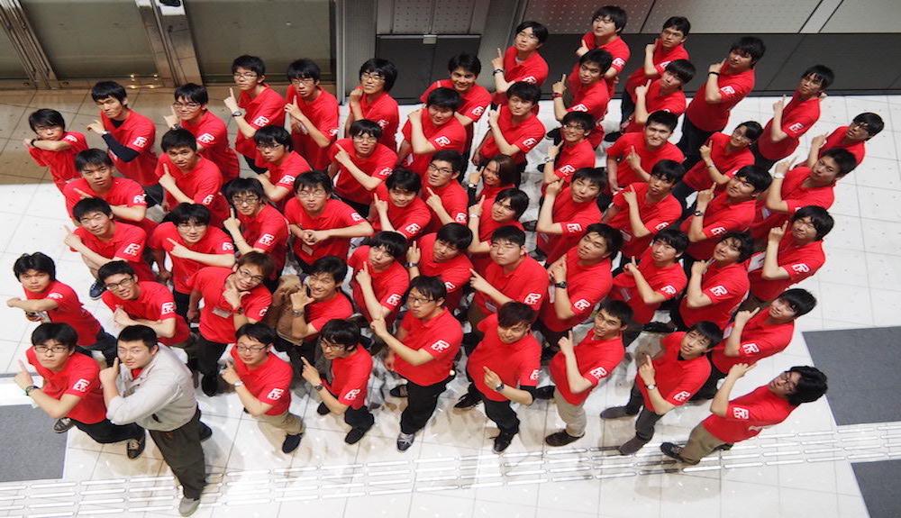 NHK学生ロボコン2017 集合写真