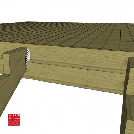 abri en bois 6 x 4 m avec couverture membrane epdm boutique alsace terrasse