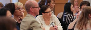 Engaged attendees at Kitsap Business Forum