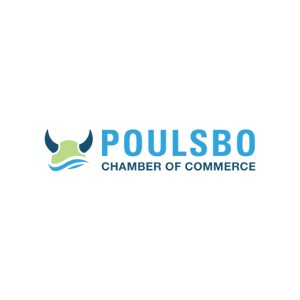 Poulsbo Chamber of Commerce logo