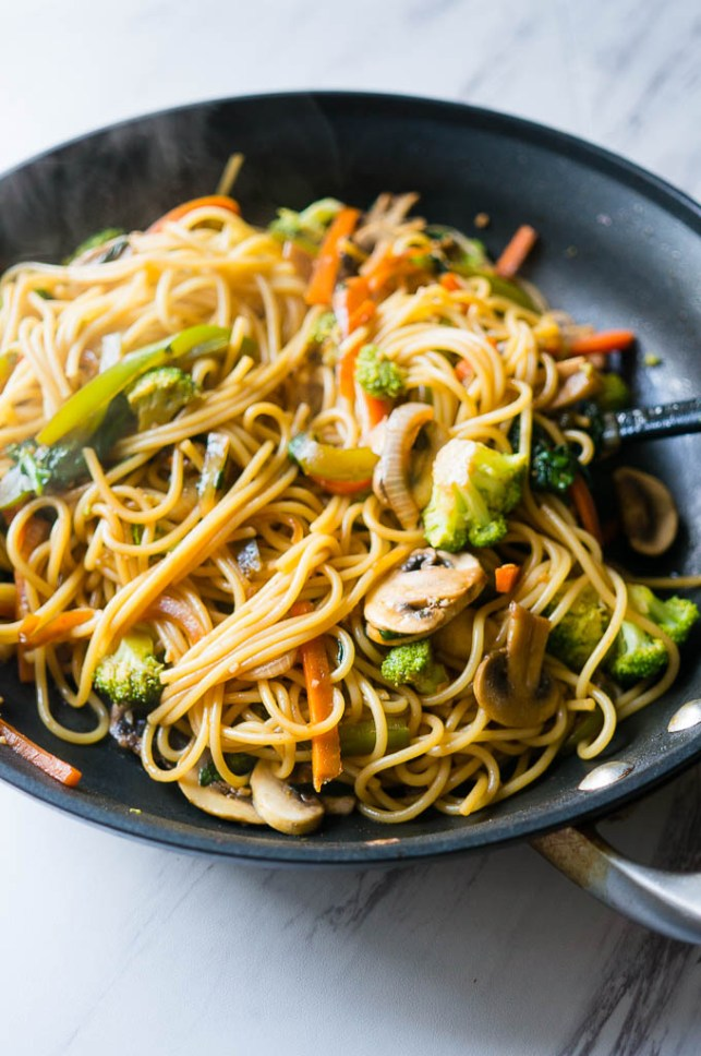 dinner ideas for two lo mein