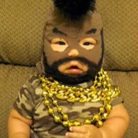 I Pity The Fool Who Puts His Baby In Black-Face