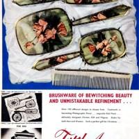 Modern Woman Monday: Vintage Fifth Avenue Toilet Brushware