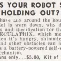 ARE YOU OUT OF ROBOTS?