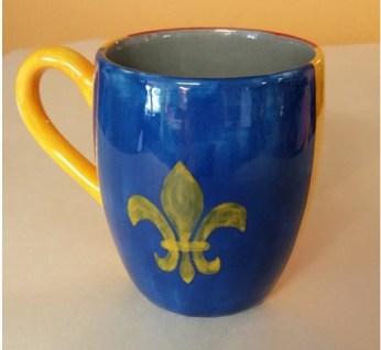 Fired mug