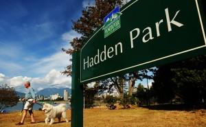 Hadden Park sign