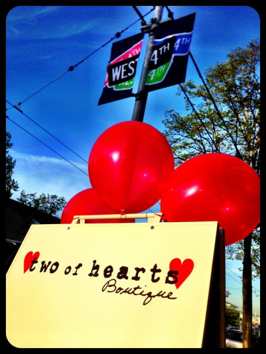 Two of Hearts is open on West 4th