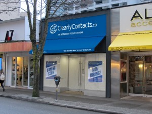 Clearly Contacts West 4th
