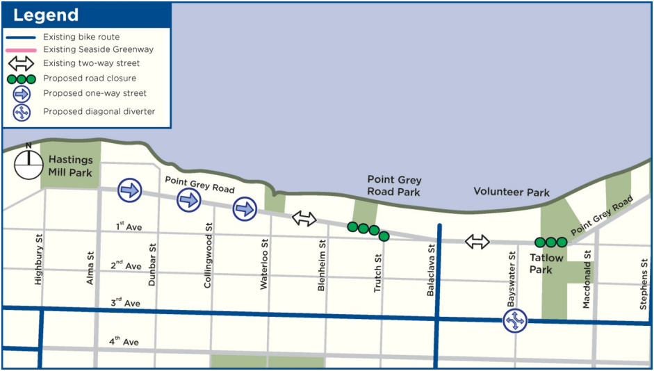 Point Grey-Cornwall Active Transportation Corridor Section 2