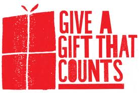 Give a gift that counts