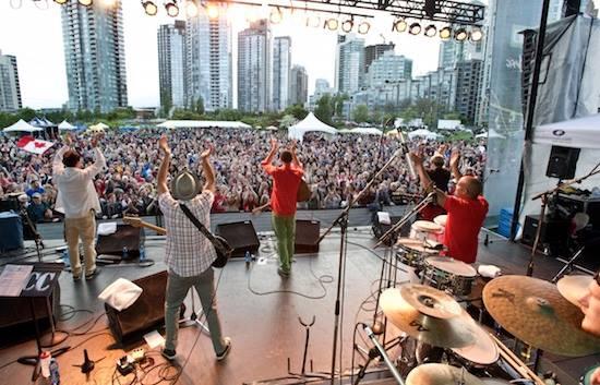 Image: Vancouver International Jazz Festival