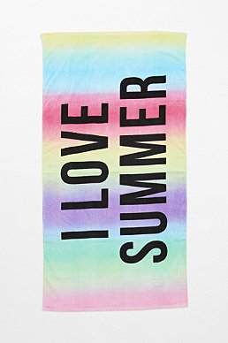 Urban Outfitters beach towel