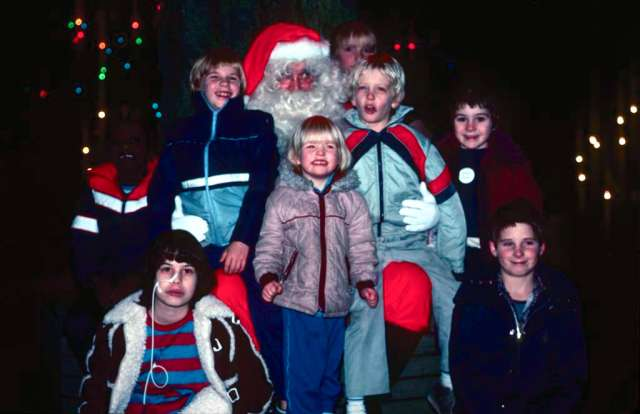 Festival of Lights Christmas; 1983. Image: Vancouver Archives