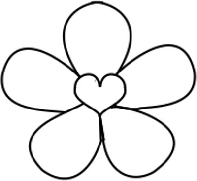 Image Result For Child Outline Coloring