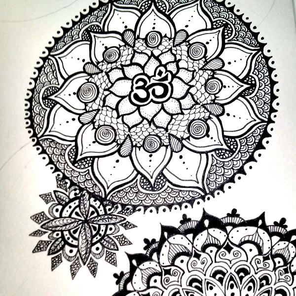 How To Draw Mandalas