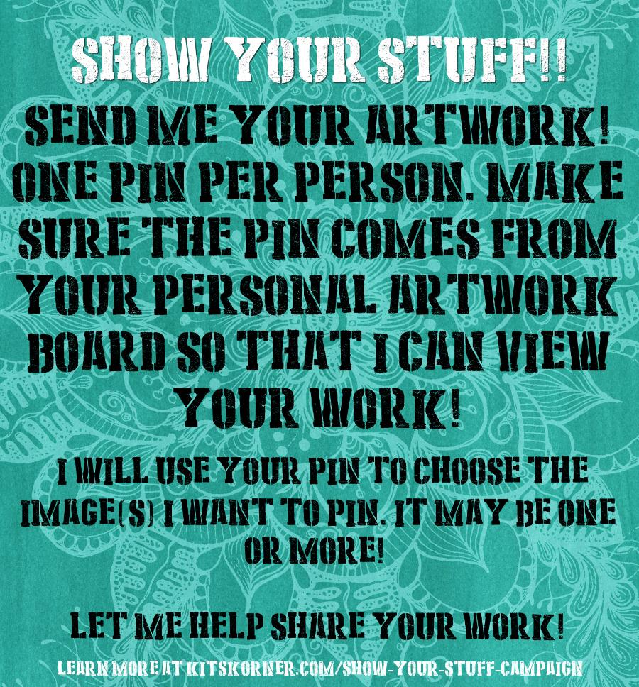 Show Your Stuff Campaign @ kitskorner.com