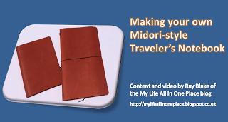 Midori Style Notebook Tutorial by Ray Blake