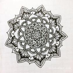 Jan 9-15 – Mandala BuJo Closeup…