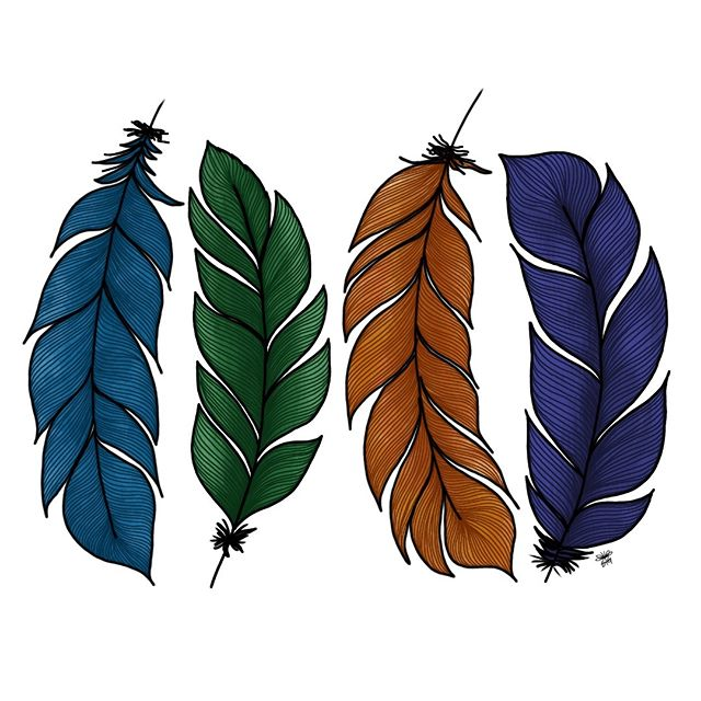 Completely obsessed with feathers...