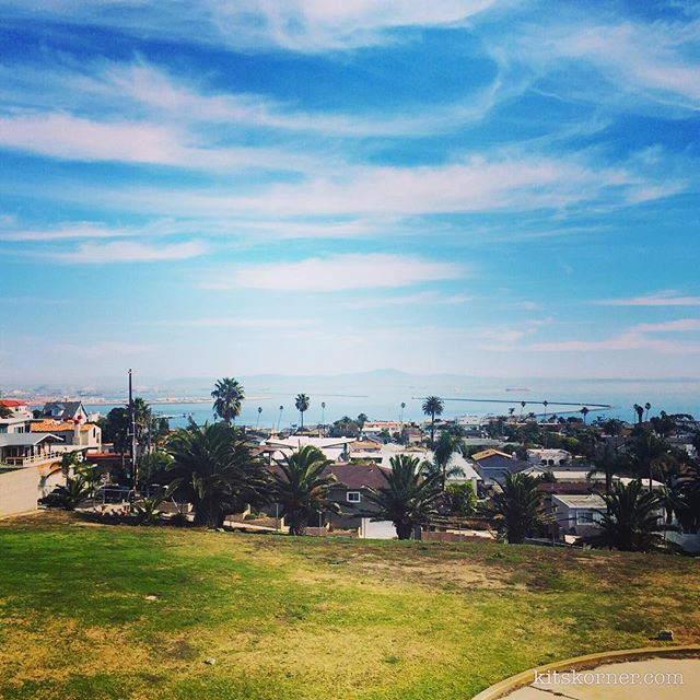 View from the Korean Friendship Bell In San Pedro, CA.